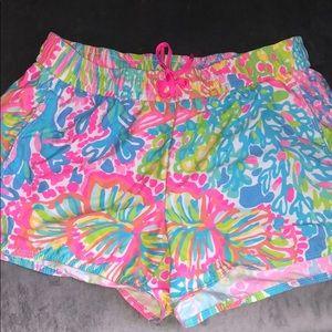 EUC Lilly Pulitzer Luxletic shorts